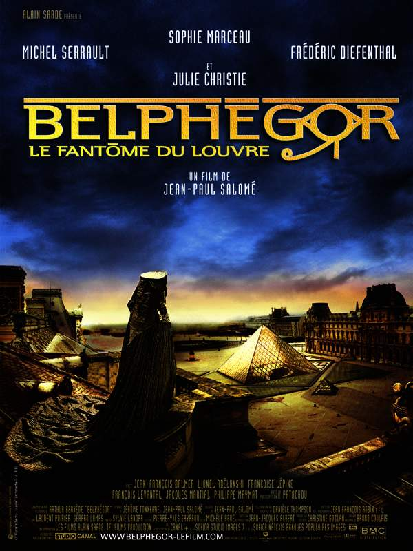 Belphégor, le fantôme du Louvre streaming