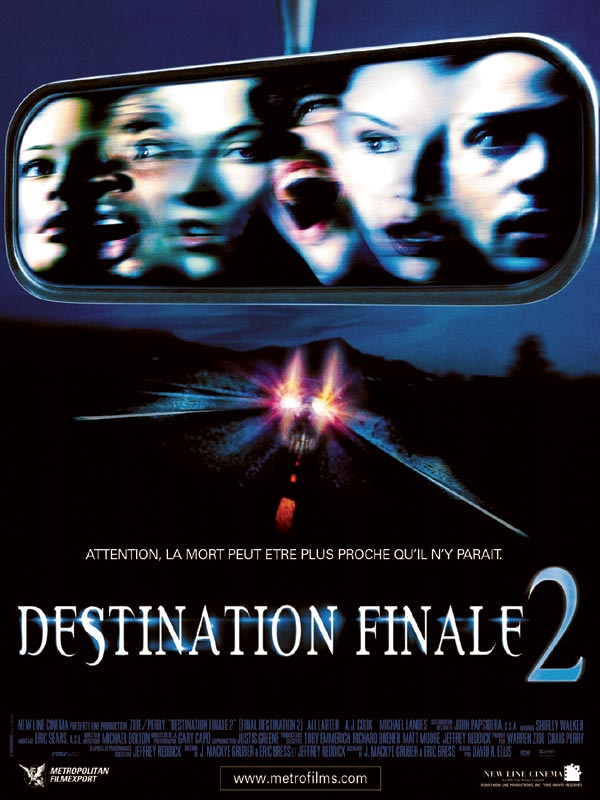 Destination finale 2 Streaming