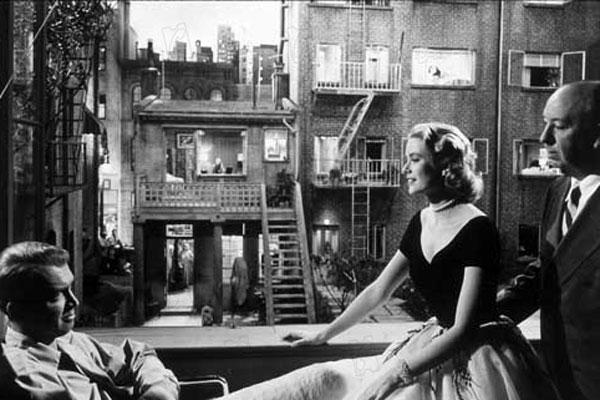 Fenêtre sur cour : Photo Alfred Hitchcock, Grace Kelly, James Stewart