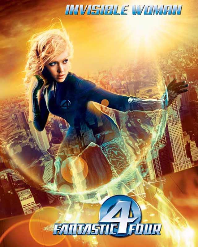Affiche du film les 4 fantastiques affiche 3 sur 8 allocin - La femme invisible 4 fantastique ...