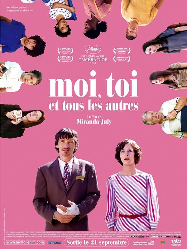 Moi, toi et tous les autres : affiche Miranda July