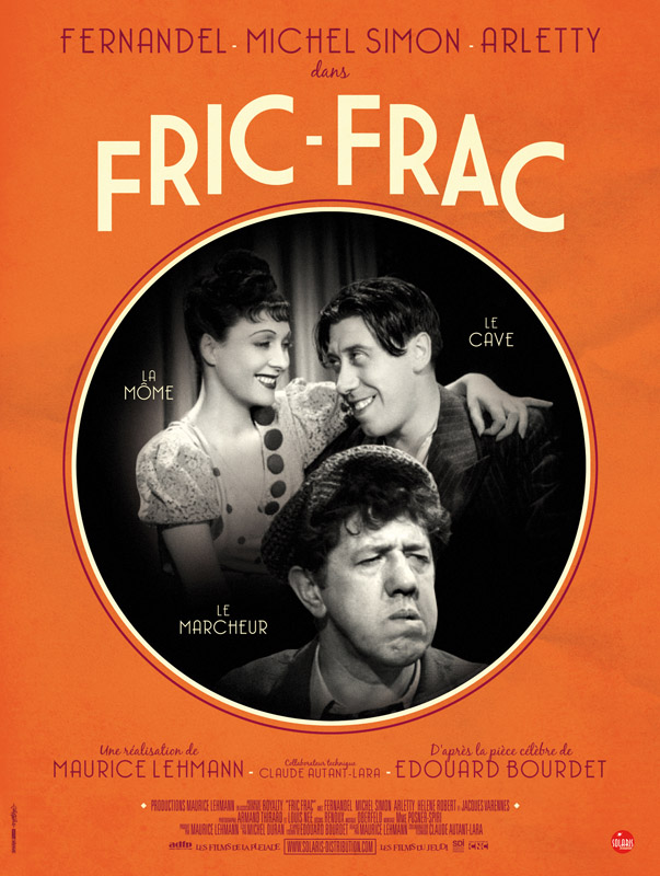 Fric-frac : affiche