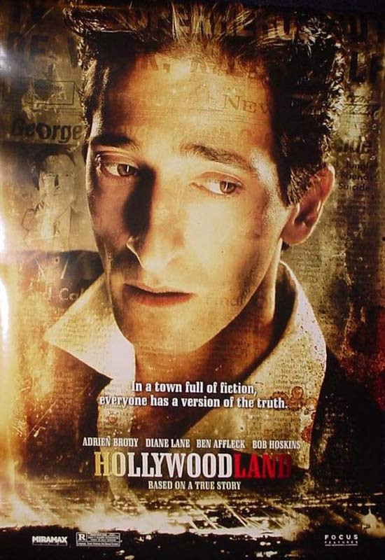Hollywoodland : Affiche Adrien Brody, Allen Coulter