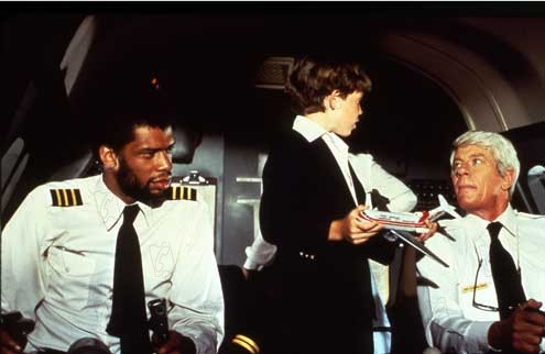 Y a-t-il un pilote dans l'avion ? : Photo Jim Abrahams, Kareem Abdul-Jabbar, Peter Graves