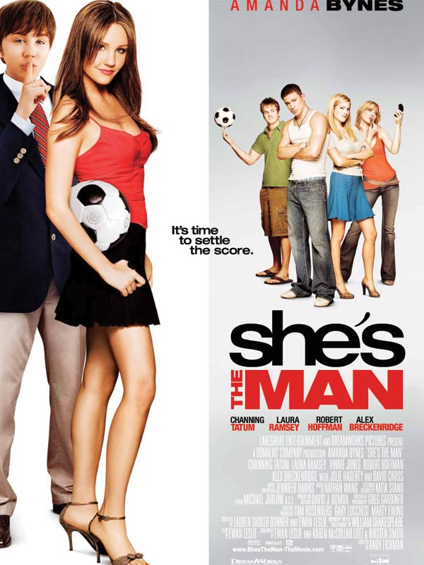 affiche de she's the man