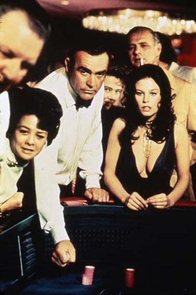 Les Diamants sont éternels : photo Guy Hamilton, Ian Fleming, Sean Connery