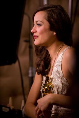 Cérémonie des Oscars 2008 (TV) : photo Marion Cotillard