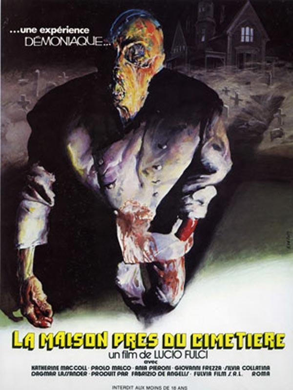 La maison pr s du cimeti re film 1981 allocin - Voir sa maison de face ...