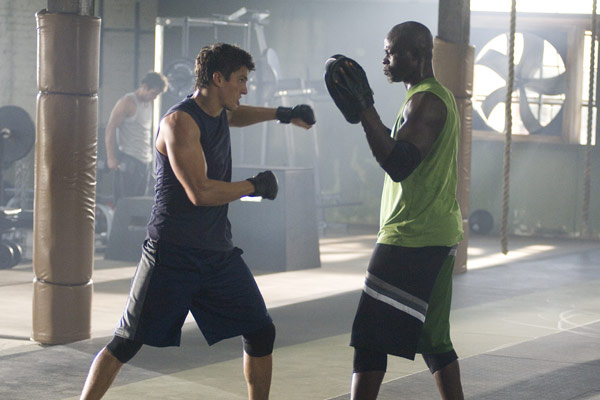 Never Back Down : photo Djimon Hounsou, Jeff Wadlow, Sean Faris