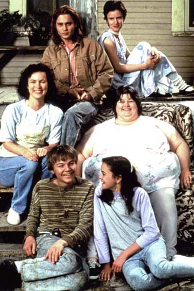 Gilbert Grape : Photo Darlene Cates, Johnny Depp, Juliette Lewis, Laura Harrington, Leonardo DiCaprio