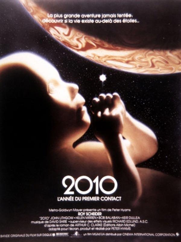 2010 : L'Année du premier contact : Affiche