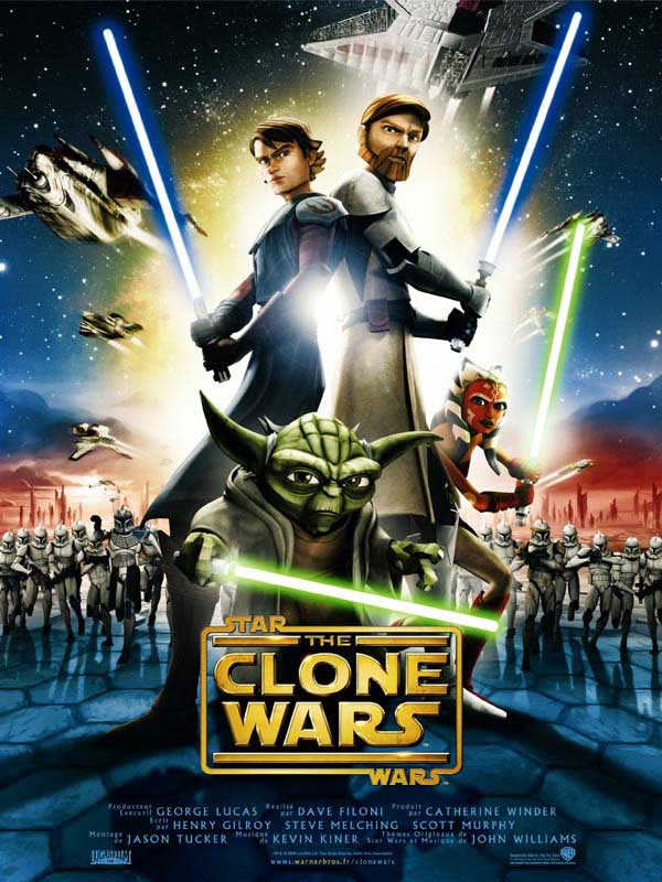 star wars the clone wars film 2008 allocin. Black Bedroom Furniture Sets. Home Design Ideas