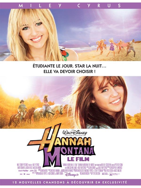 Hannah Montana, le film : Affiche Peter Chelsom