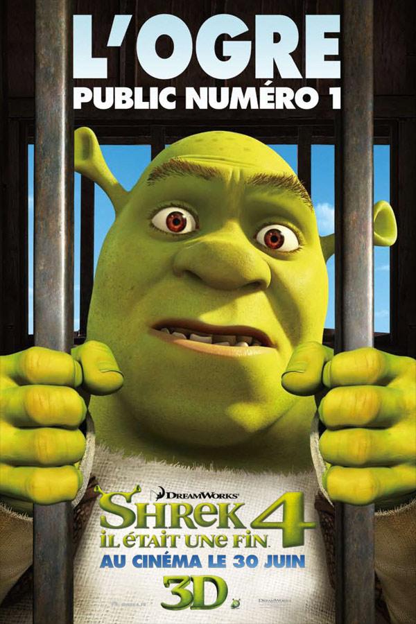 Shrek 4, il était une fin : Affiche Mike Mitchell (V)