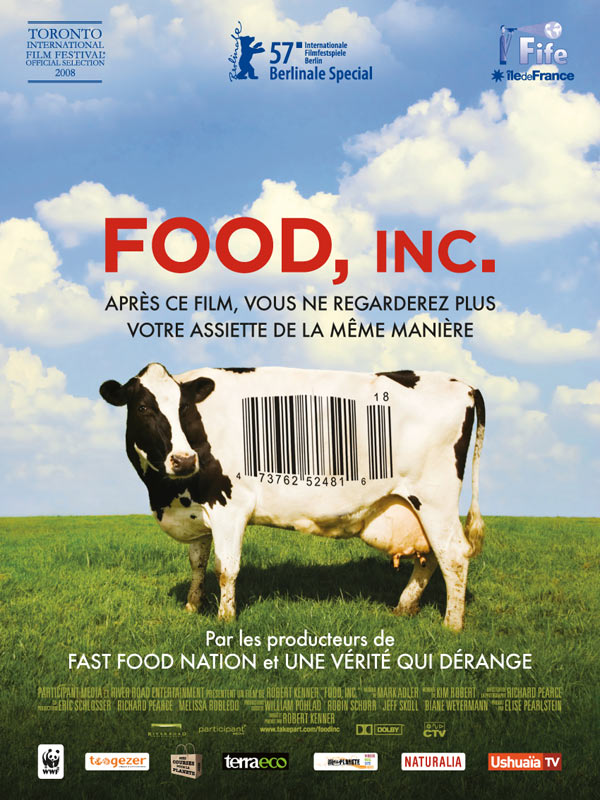 food inc notes Facts from food, inc in the 1970s, the top five beef packers controlled about 25% of the market today, the top four control more than 80% of the market.