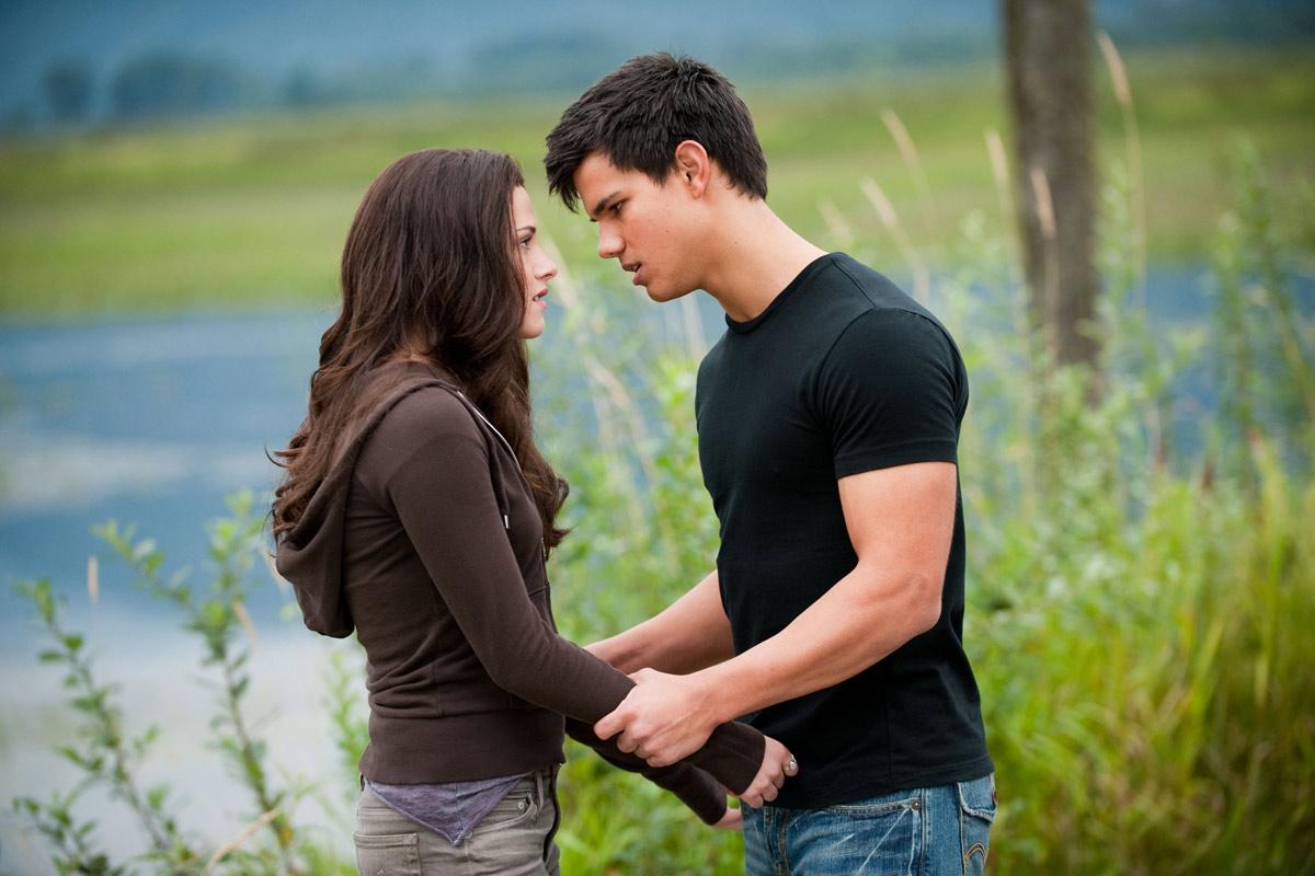 Twilight - Chapitre 3 : hésitation : photo David Slade, Kristen Stewart, Taylor Lautner