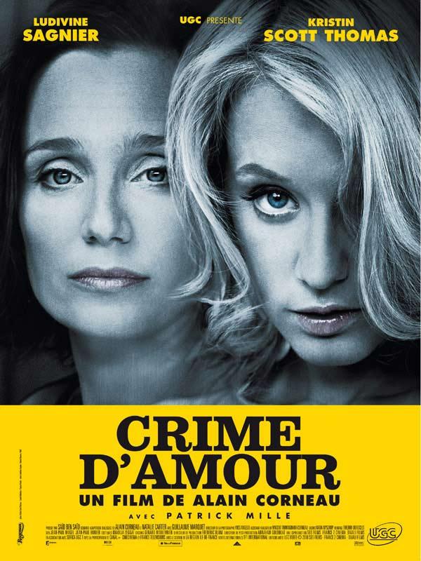 Crime d'amour : affiche