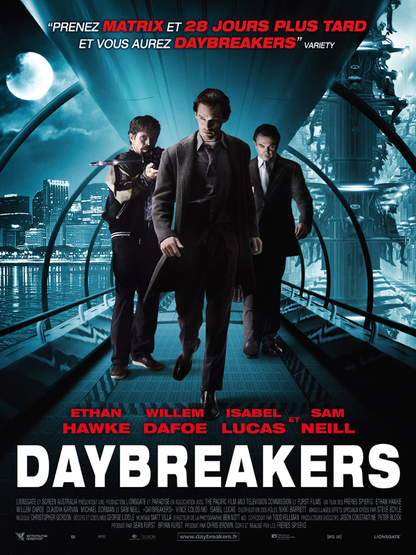 Daybreakers streaming