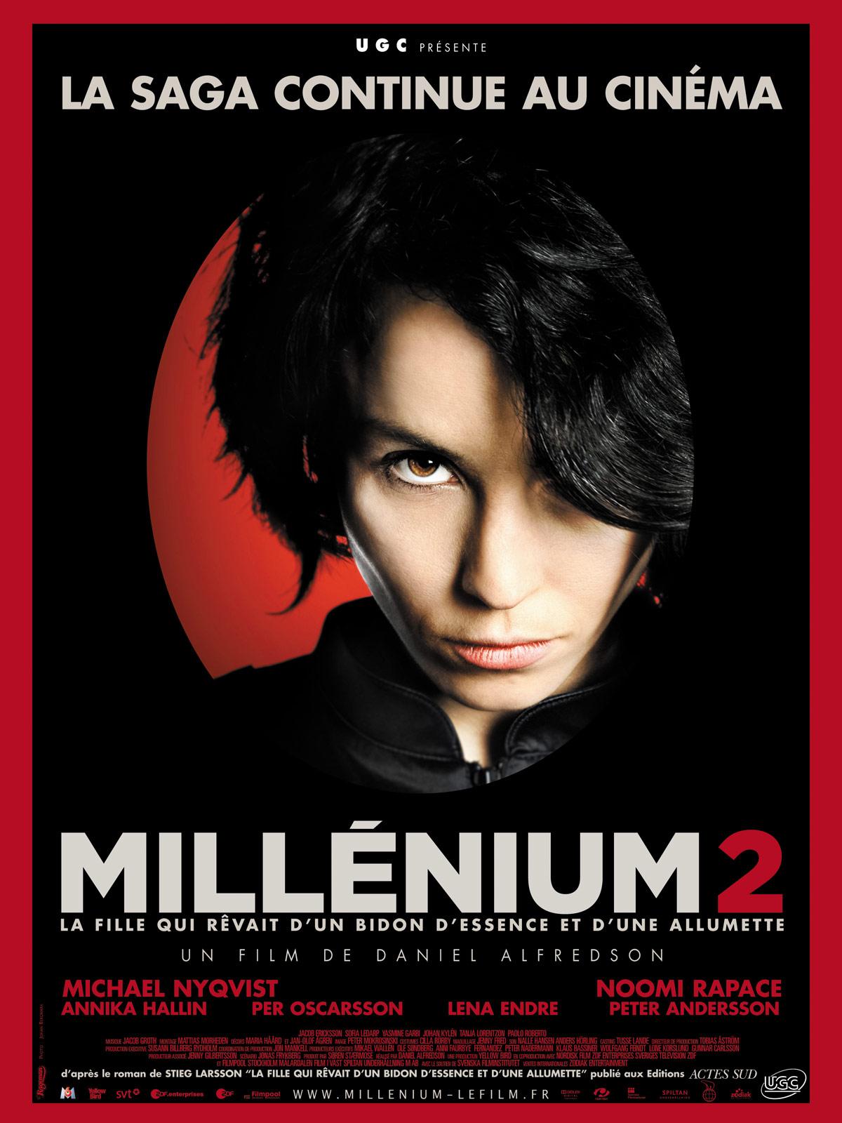 Millénium 2 - La Fille qui rêvait d'un bidon d'essence et d'une allumette streaming