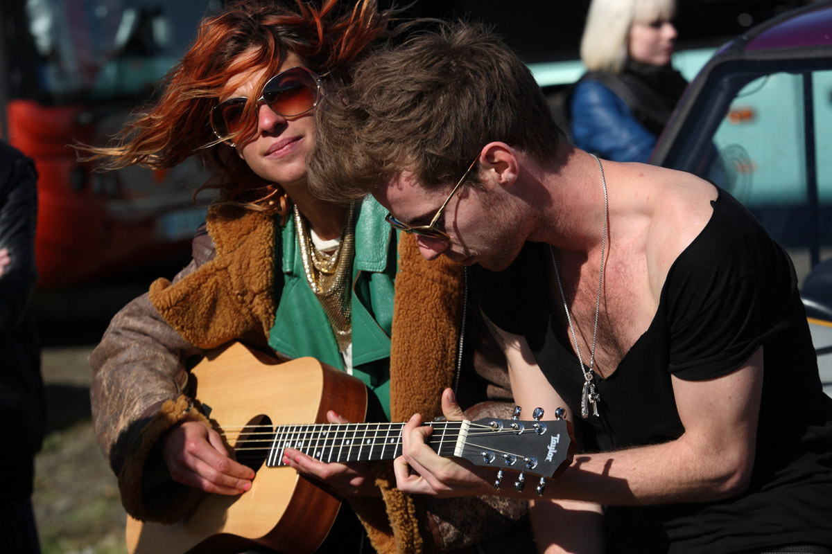 Rock'N'Love : Photo David MacKenzie, Luke Treadaway, Natalia Tena