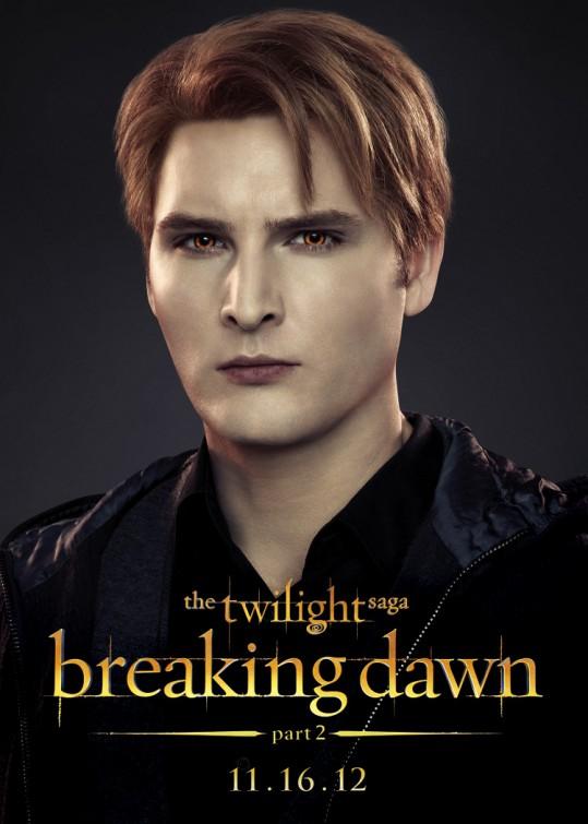 Twilight - Chapitre 5 : Révélation 2e partie : Affiche Peter Facinelli
