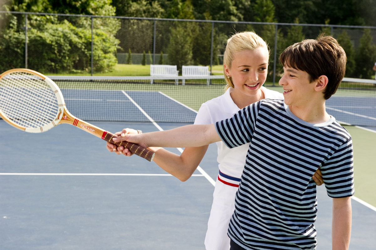 Diary Of A Wimpy Kid Tennis Scene