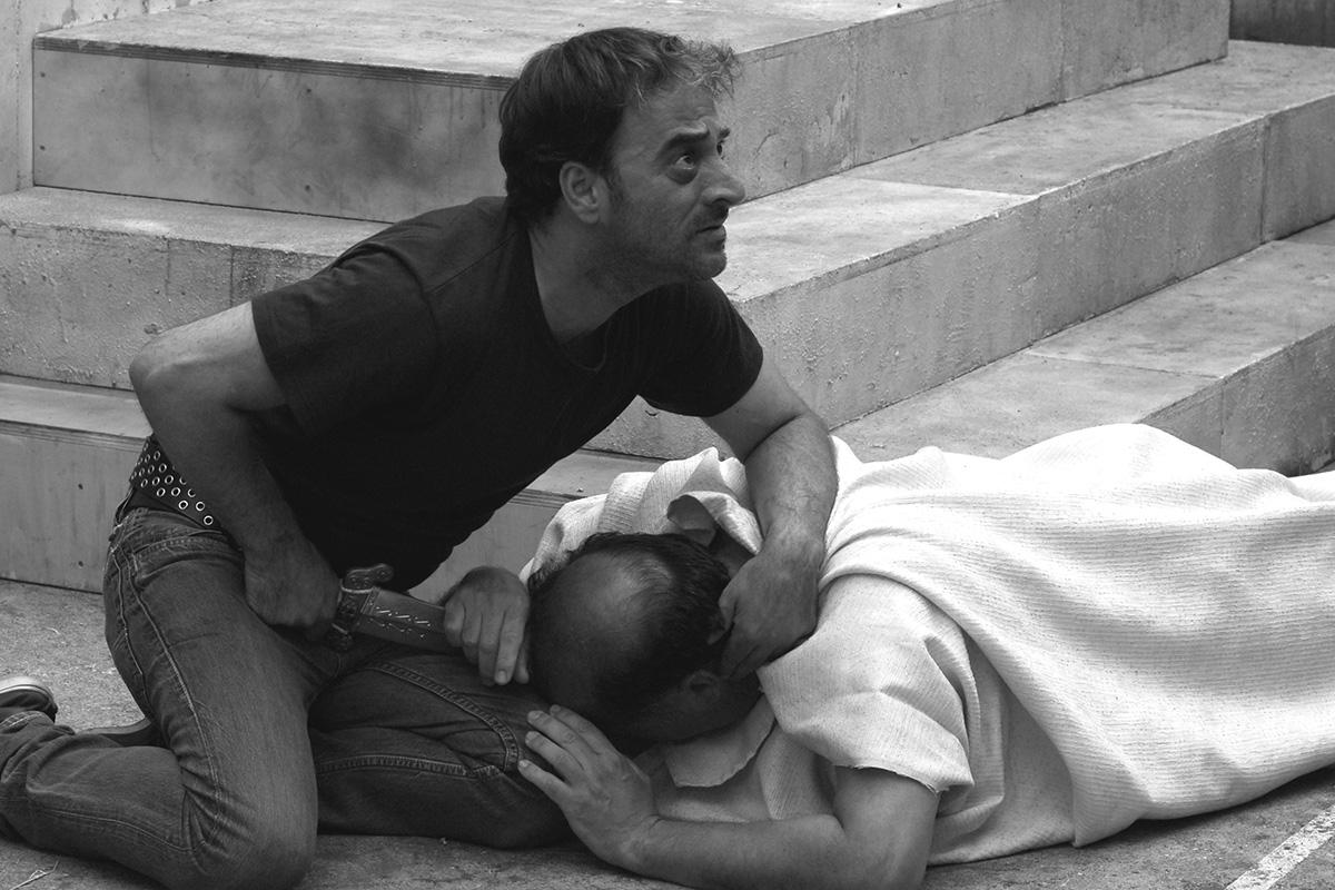 César doit mourir : Photo Giovanni Arcuri, Salvatore Striano