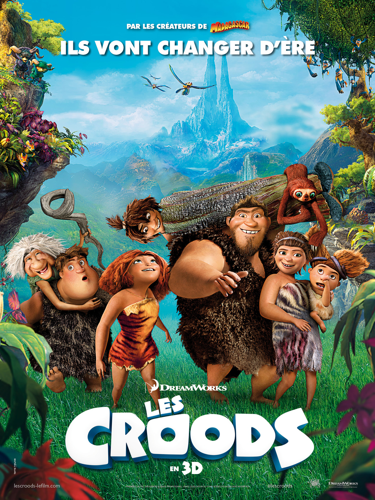 Les Croods | Multi | DVD-R NTSC | 2013