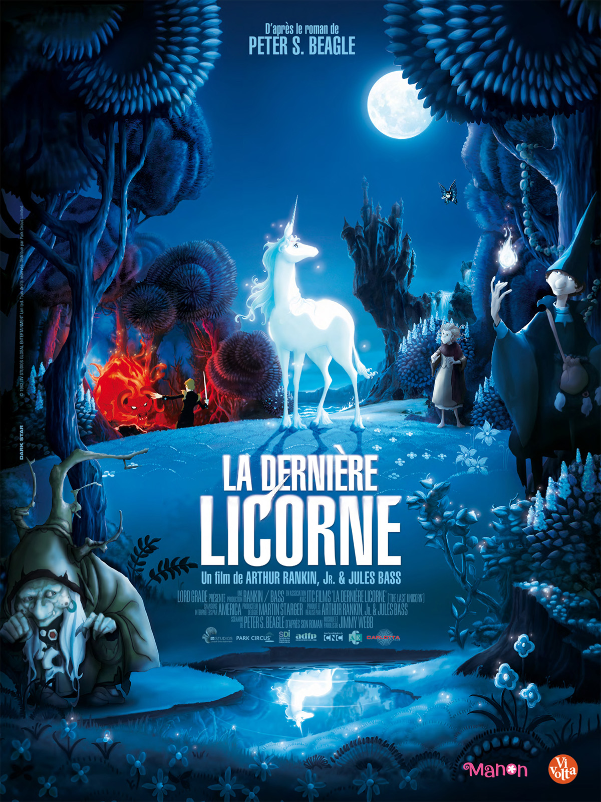 la derni re licorne 1982 vf repack hd maison les films introuvables. Black Bedroom Furniture Sets. Home Design Ideas