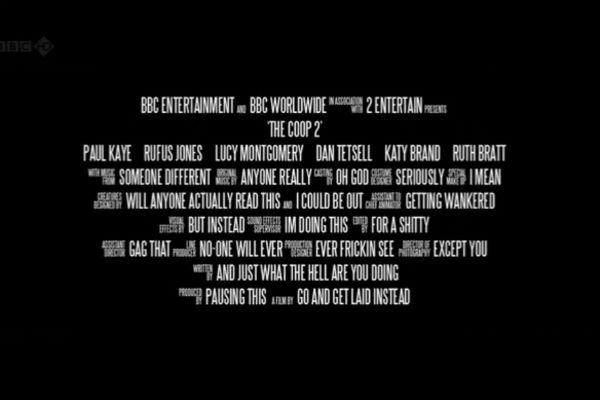 Mongrels 10 petits d tails cach s dans les g n riques de for Movie poster credits template free