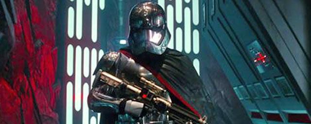 Star wars captain phasma est un personnage f minin fort - Personnage de starwars ...
