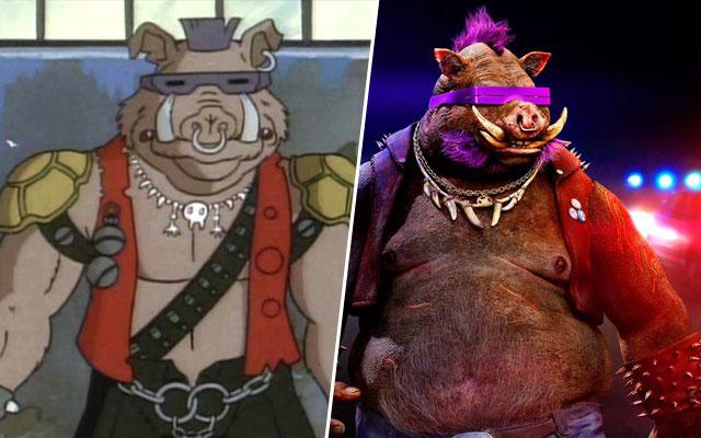 Bebop bebop rocksteady casey jones tout sur les - Maitre rat tortue ninja ...