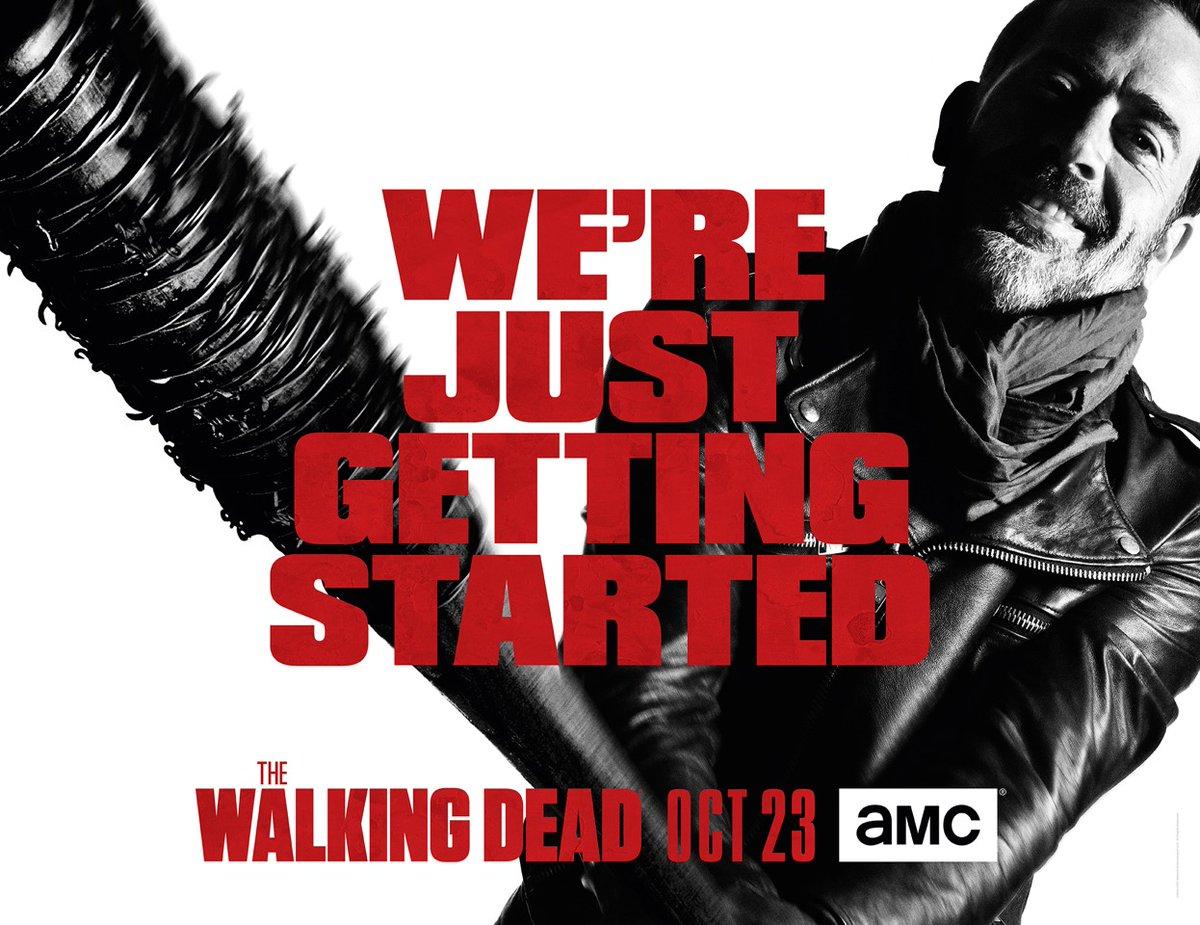 The Walking Dead :  Negan semble très menacent pour cette nouvelle saison 7 (+ affiche dévoilée)
