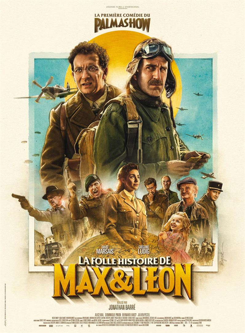bande annonce la folle histoire de max et l on les deux trublions du palmashow h ros de guerre. Black Bedroom Furniture Sets. Home Design Ideas