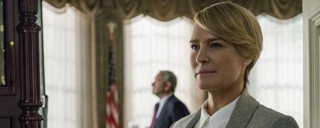 House of Cards : Robin Wright n'a finalement pas touché le même salaire que Kevin Spacey