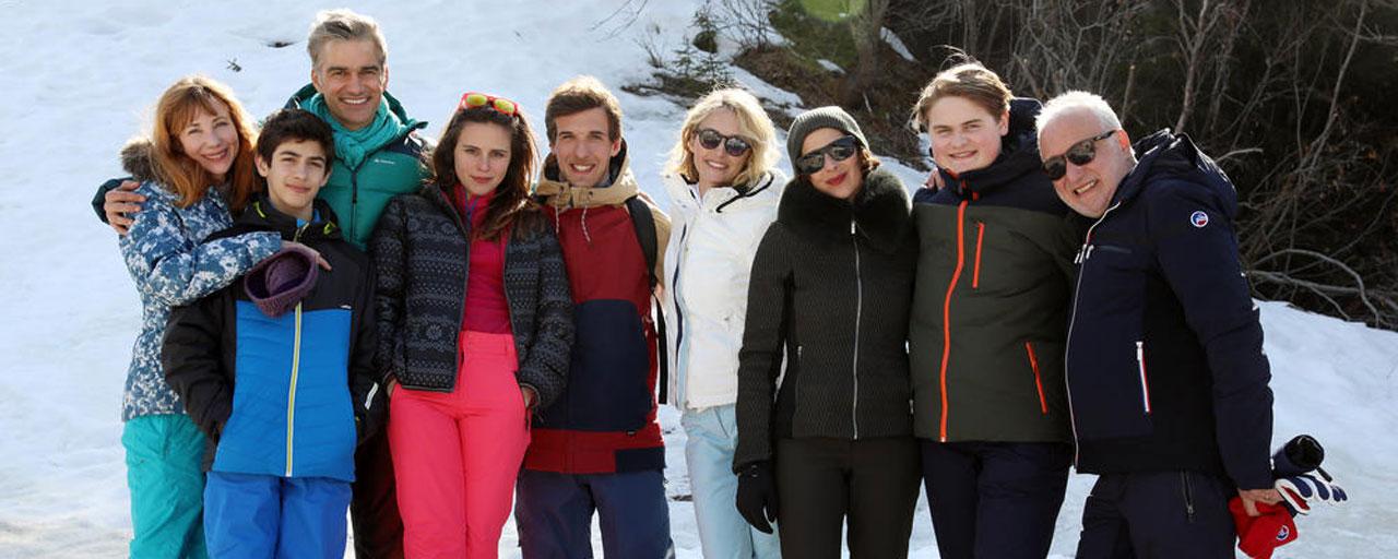 Les Chamois : TF1 présente sa comédie hivernale avec François Berléand et Julie Depardieu