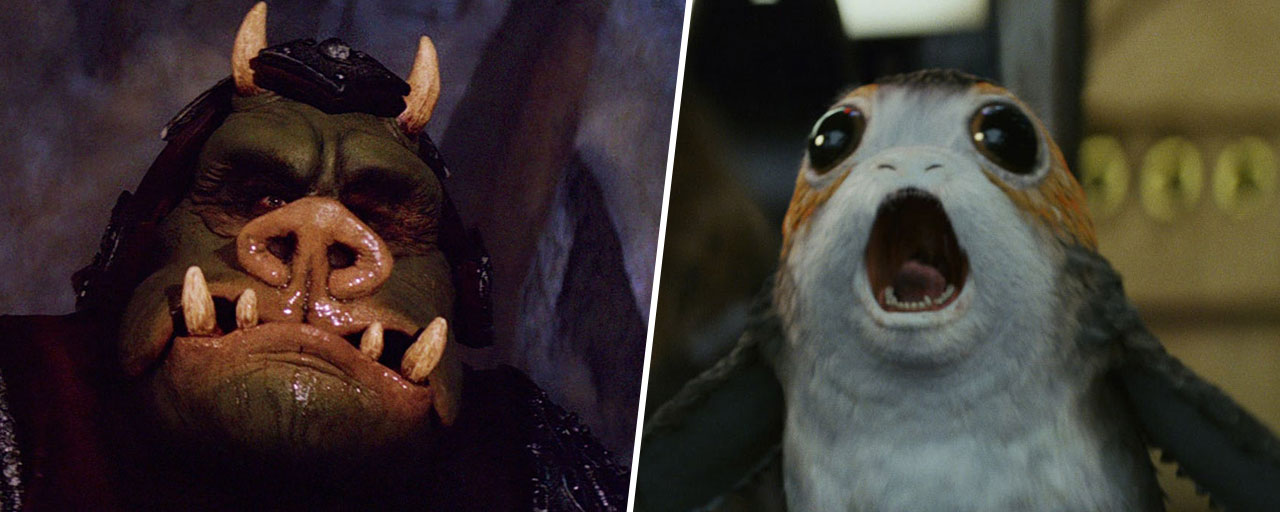 Star Wars : les créatures les plus étranges de la galaxie