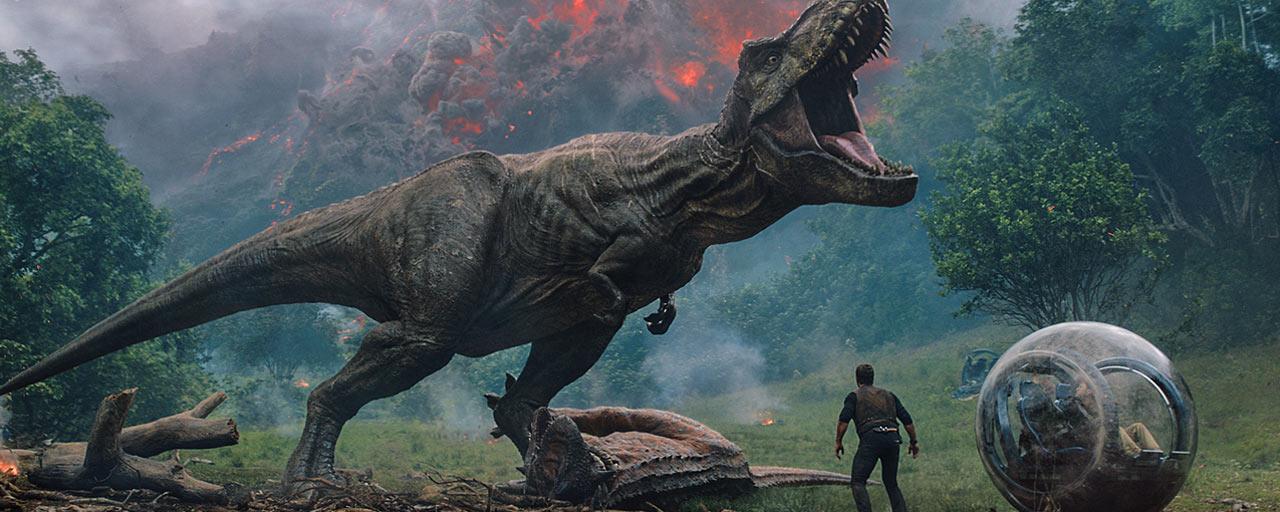 Jurassic World 2 : le T-Rex règne sur l'affiche !