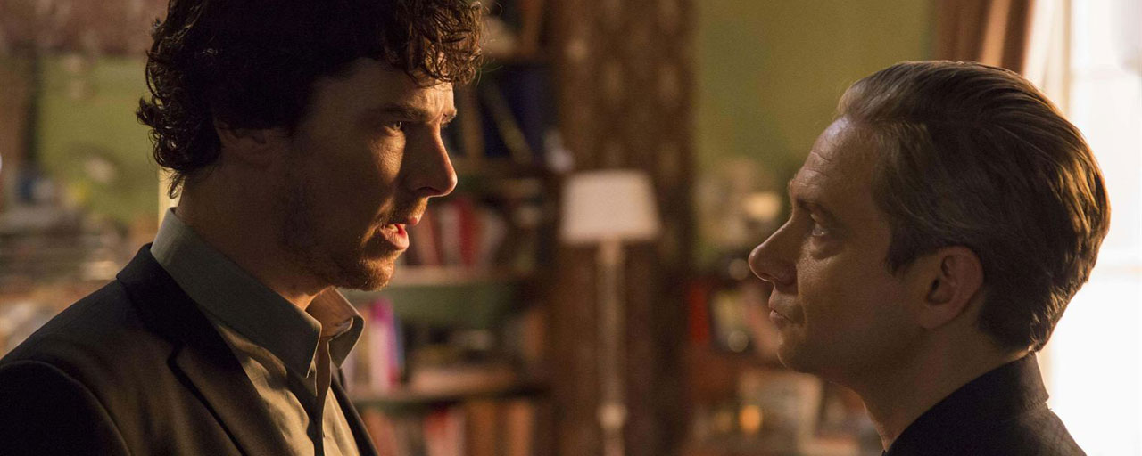 "Sherlock : Benedict Cumberbatch trouve les propos de Martin Freeman ""pathétiques"""