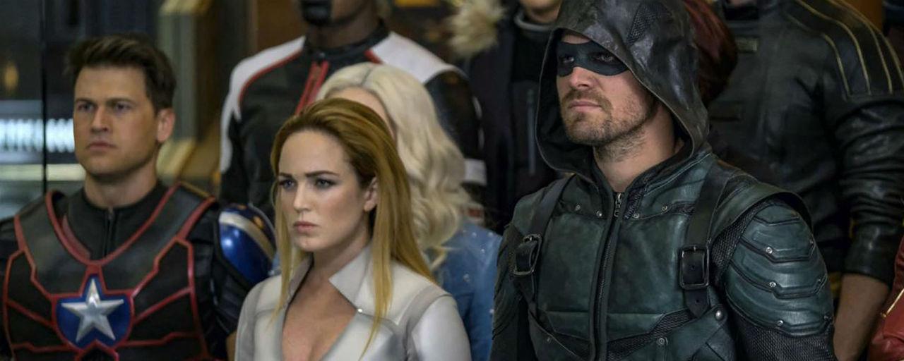 Comic-Con 2018 - Legends of Tomorrow sera absente du prochain cross-over