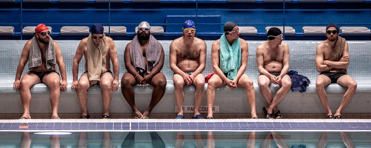 Bande-annonce Le Grand Bain : Canet, Amalric et Poelvoorde se mettent à la natation synchronisée pour Gilles Lellouche
