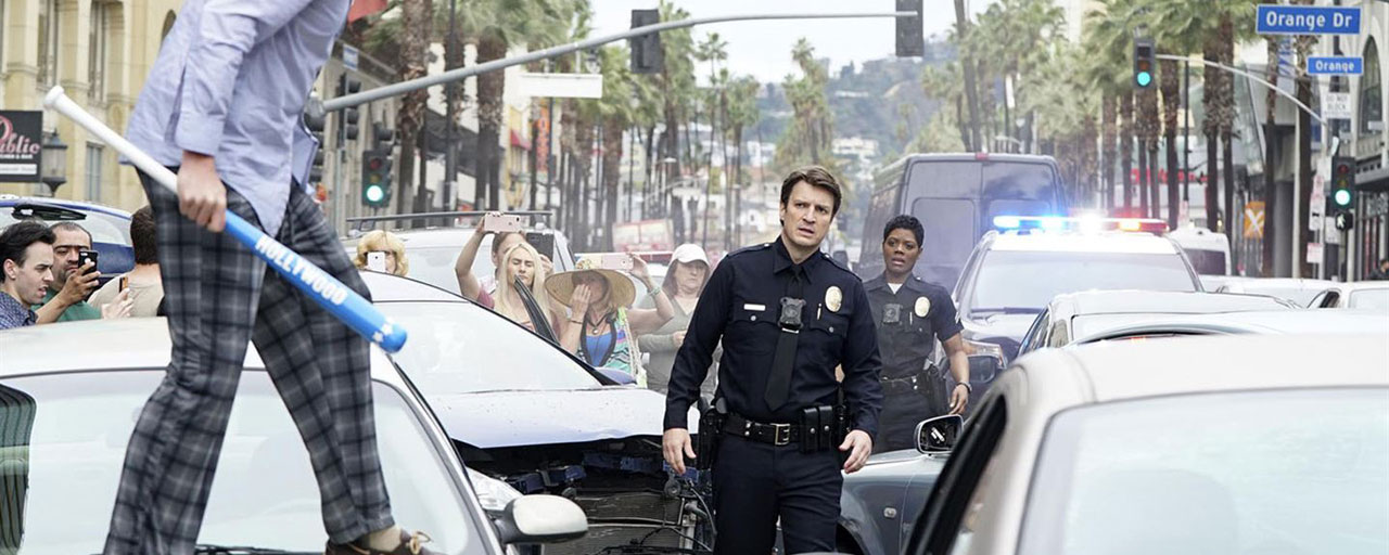 The Rookie : que pense la presse US de la nouvelle série avec Nathan Fillion après Castle ?