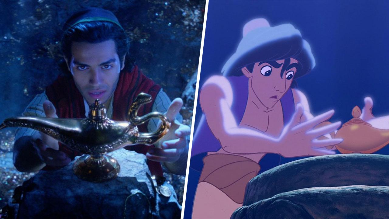 Aladdin 10 diff rences avec le film d 39 animation original - Le singe d aladdin ...
