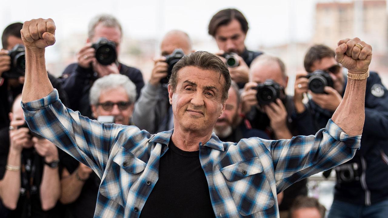 Sylvester Stallone : la légende fait le show à Cannes pour Rambo V