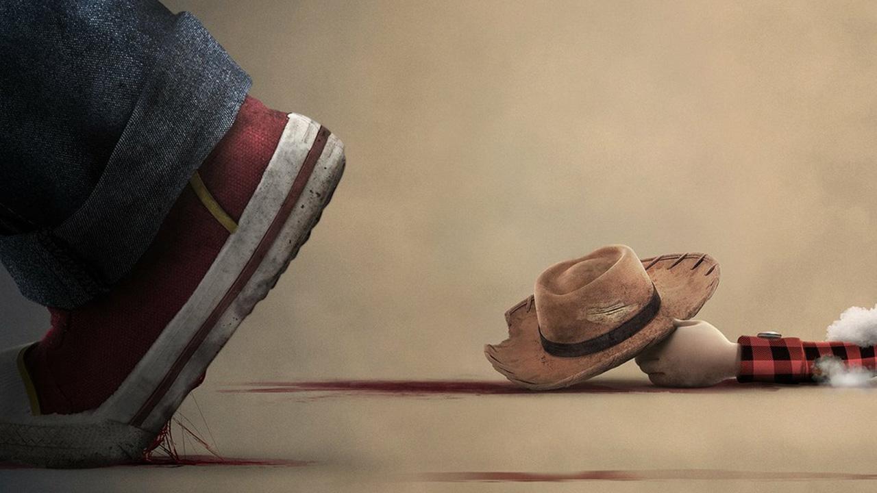 Chucky VS Toy Story 4 : la poupée maléfique s'en prend aux jouets Pixar dans une série d'affiches décalées