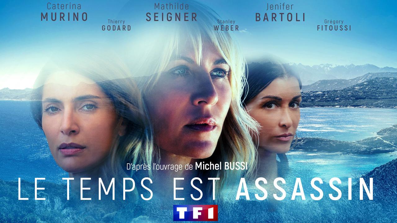 Le Temps est assassin (TF1) : on a vu le premier épisode de la série avec Mathilde Seigner, Jenifer, et Grégory Fitoussi