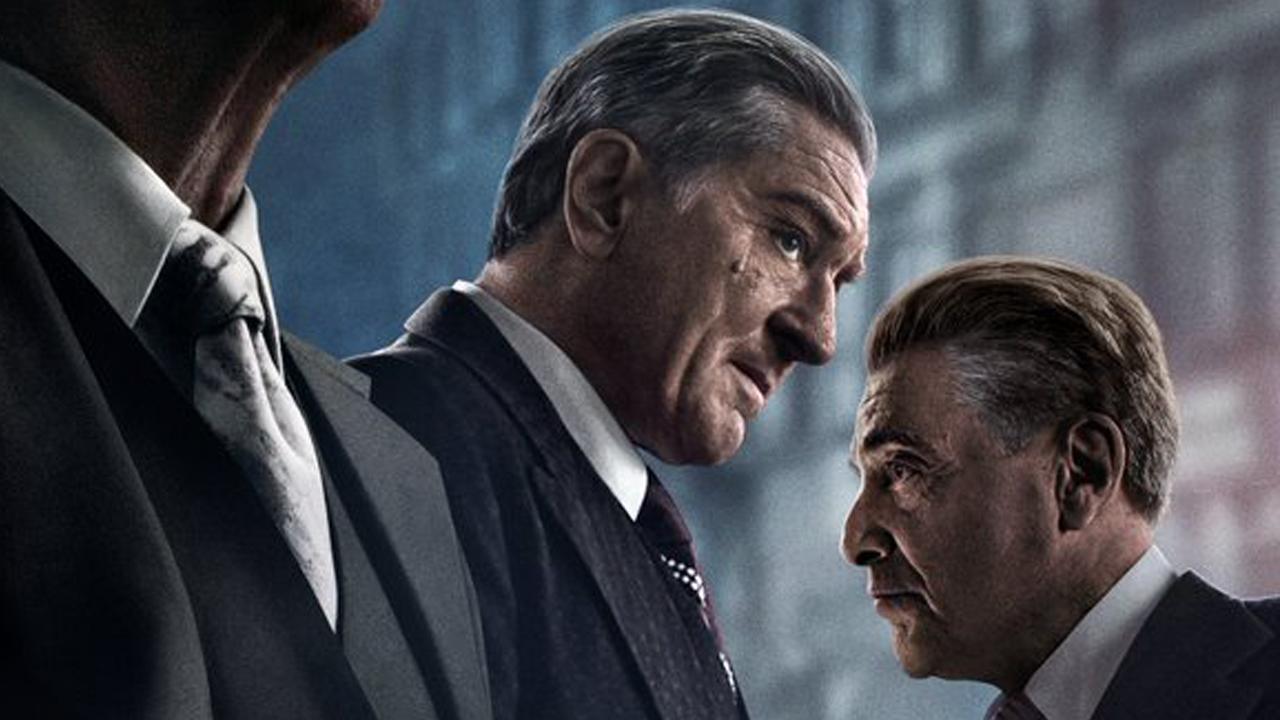 The Irishman sur Netflix : l'affiche du Scorsese, avec De Niro, Pacino et Pesci