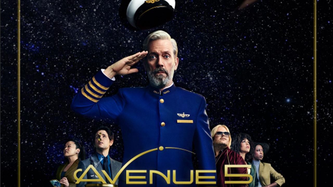 Avenue 5 : Hugh Laurie (Dr House) en janvier sur OCS dans une comédie déjantée