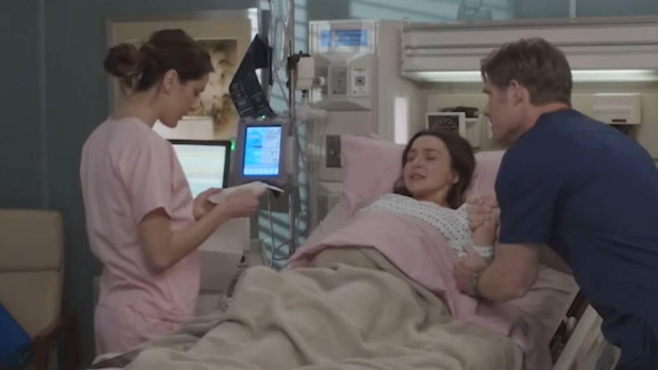 Grey's Anatomy saison 16 : un mariage, un accouchement et un pétage de plomb dans le teaser du final anticipé
