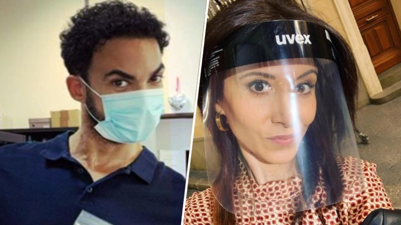 Plus Belle la vie : les acteurs reprennent le tournage équipés de protections sanitaires [PHOTOS]